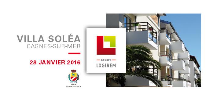 inauguration Villa Solea Cagnes sur Mer