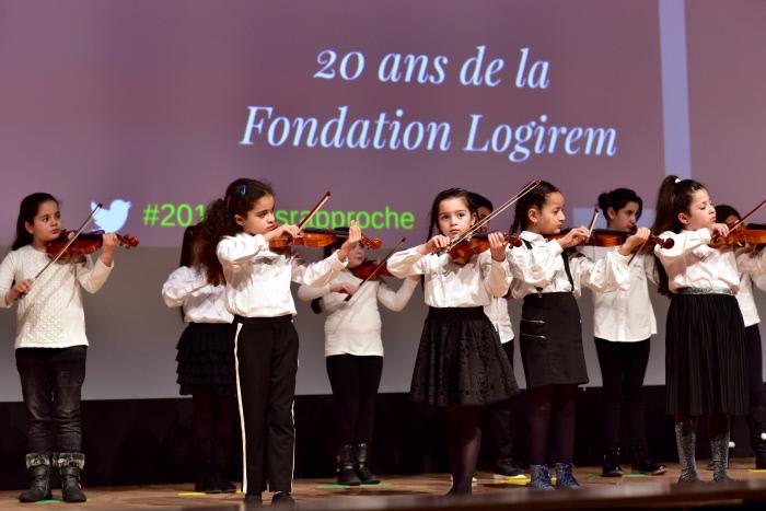 Élèves de l'école des Calanques (Marseille 9ème)